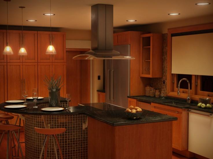 3D Kitchen Day Light